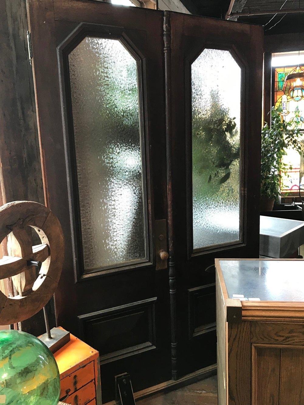 Pair of Victorian Entry doors