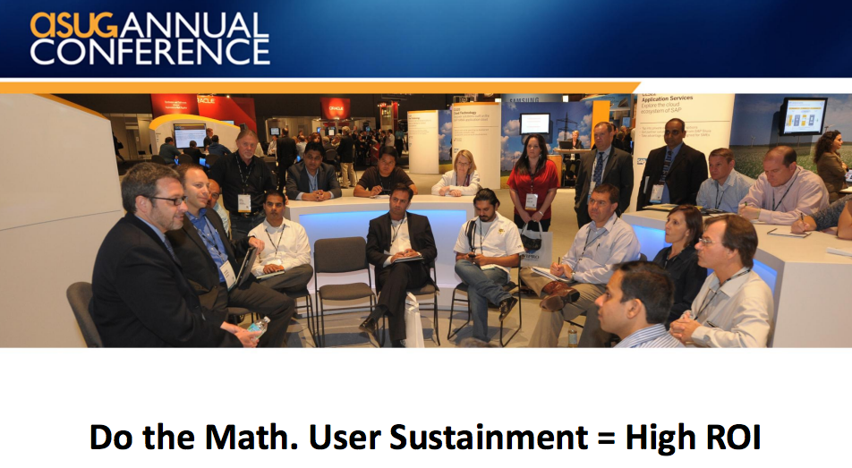 NEOASUG - Do The Math User Sustainment