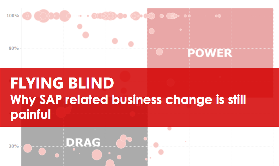Flying Blind - Why SAP related Business change is painful