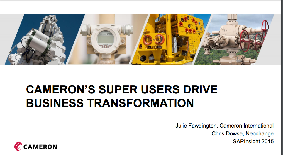 Cameron's Super Users Drive Business Transformation
