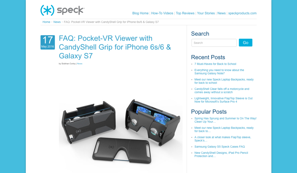 Pocket-VR Viewer launch