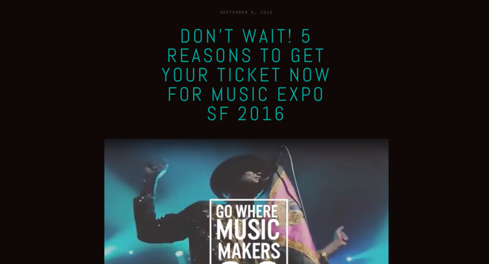 5 reasons to attend