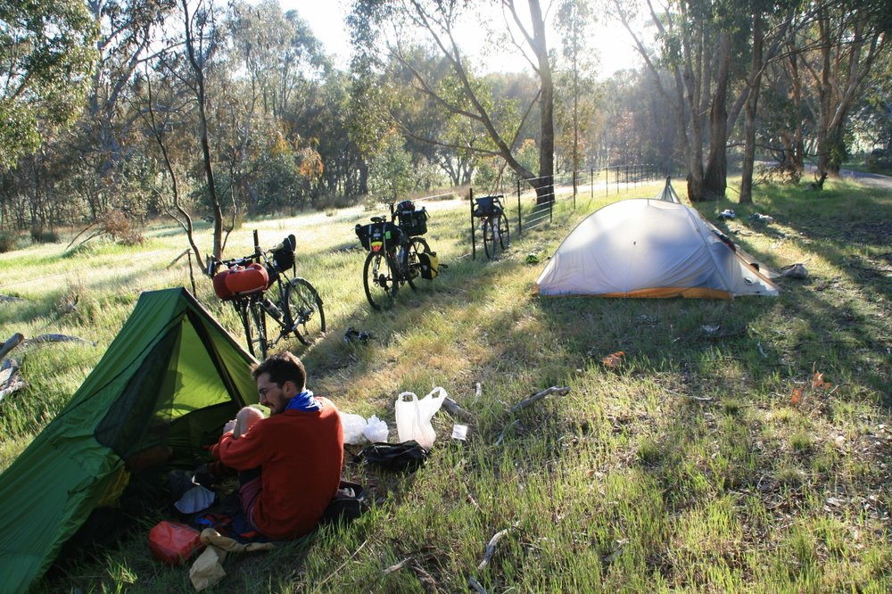 great victorian rail trail bikepacking
