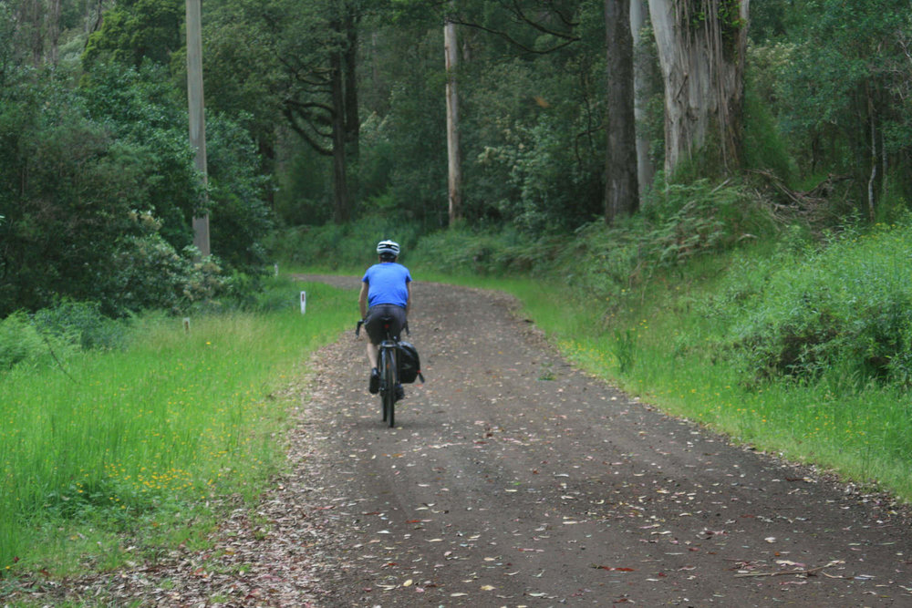 otway sabine road bikepacking