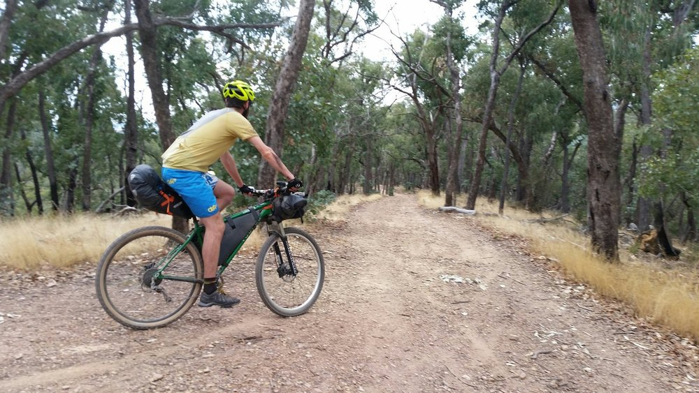 goldfields track victoria bikepacking