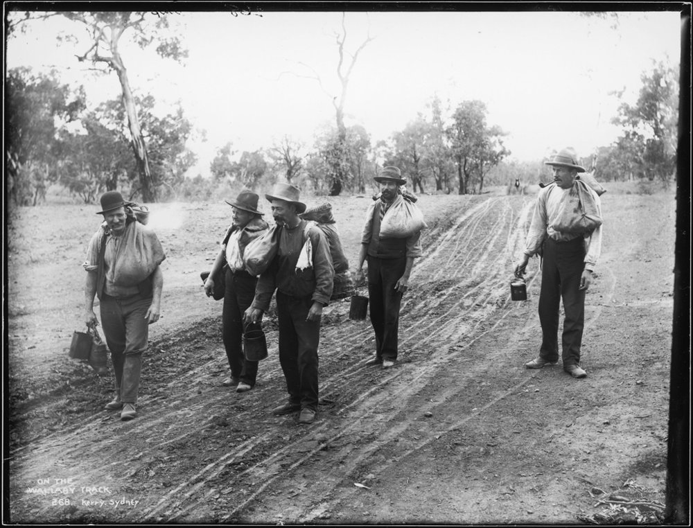 goldfields track victoria history