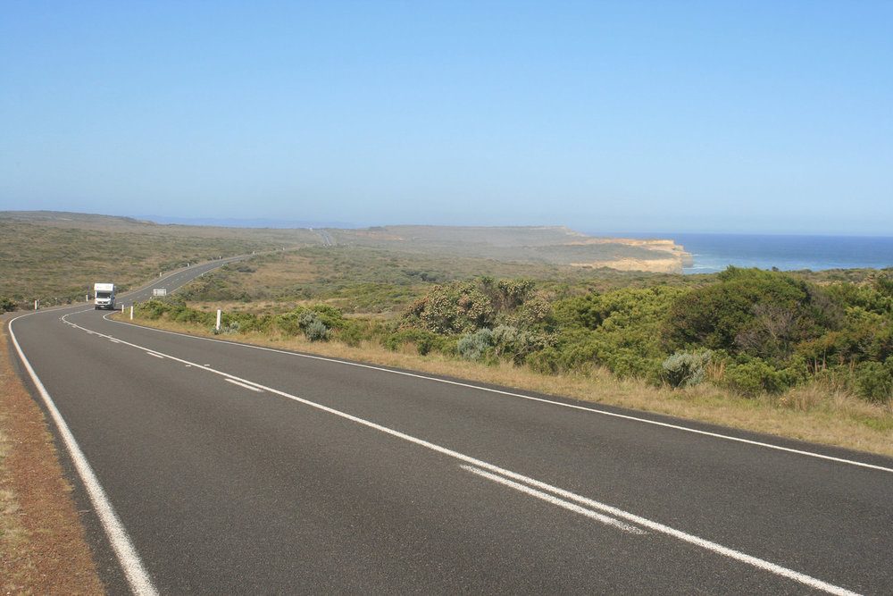Great ocean road cycling