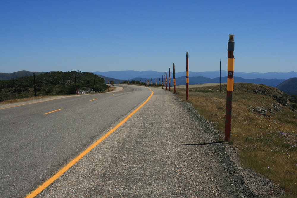great alpine road hotham heights cycling