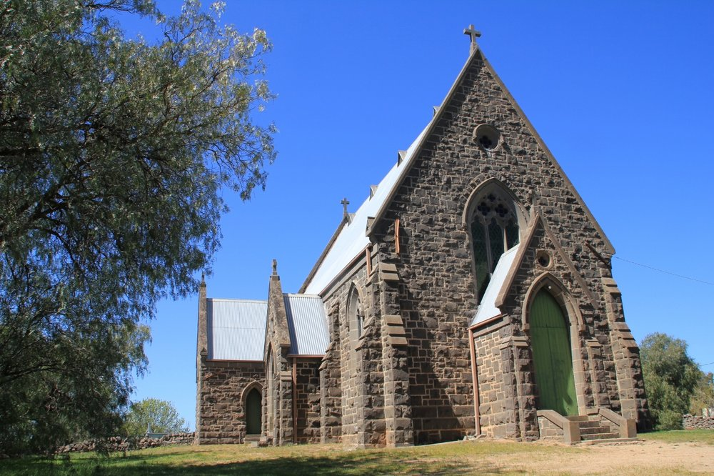 Redesdale historic church