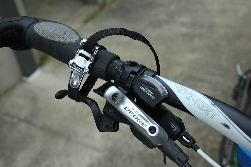 bikepacking toe strap uses