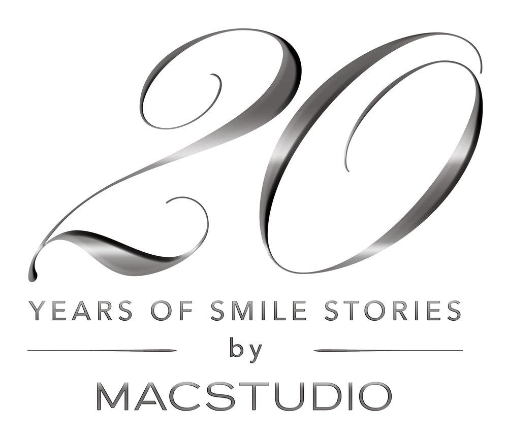 Macstudio 20 years anniversary logo