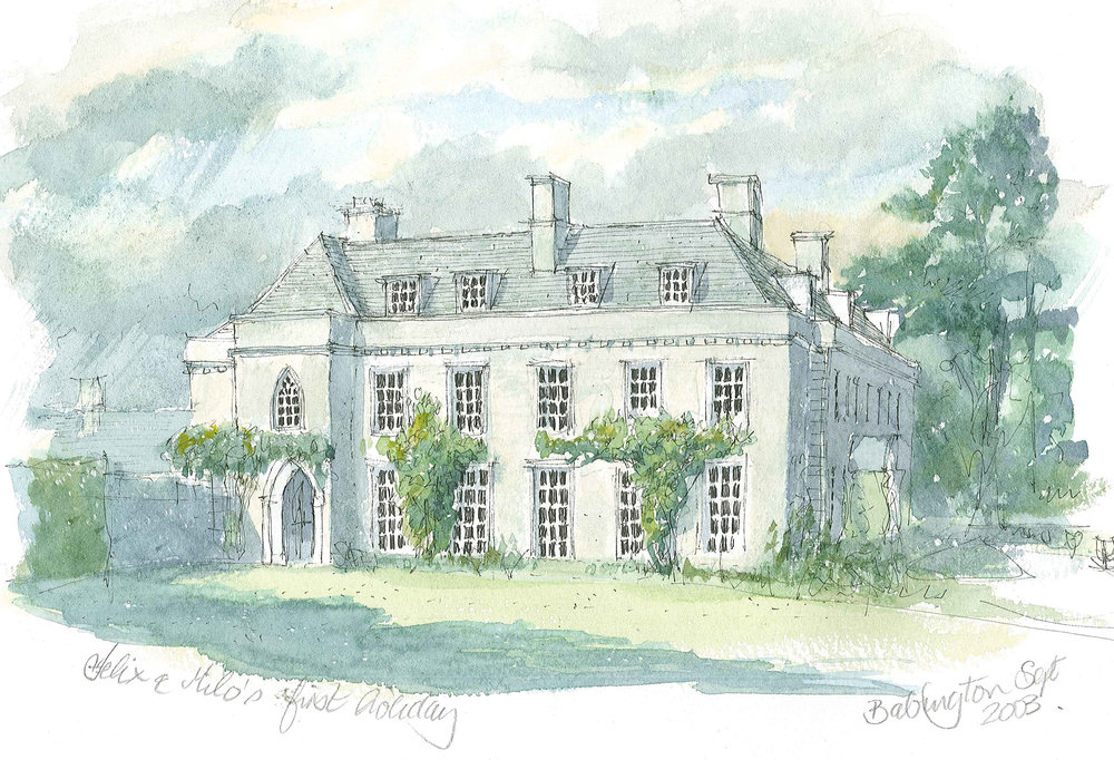 babington house, dorset