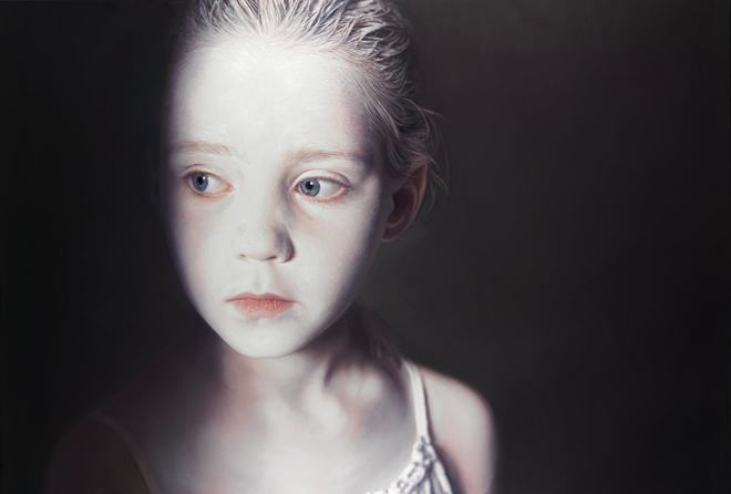 "Gottfried Helnwein, ""The Murmur of the Innocents 1, 2009"