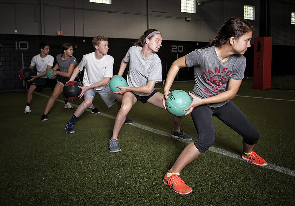 A Strong Start - Give your athlete the competitive advantage with a strong off season strength and conditioning program.