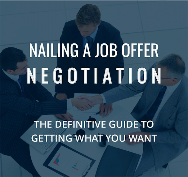Nailing a Salary Negotiation E-Book Workplace Collaborations