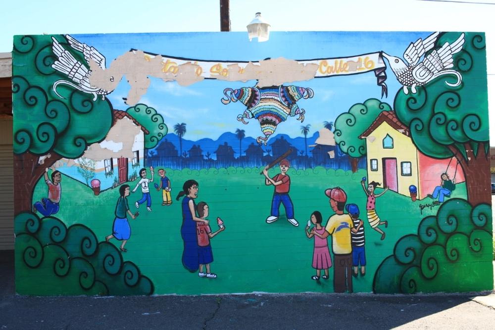 Painting Smiles - Lalo Cota, Gennaro Garcia, Calle 16 Foundation, The Boys and Girls Club of Metro Phx
