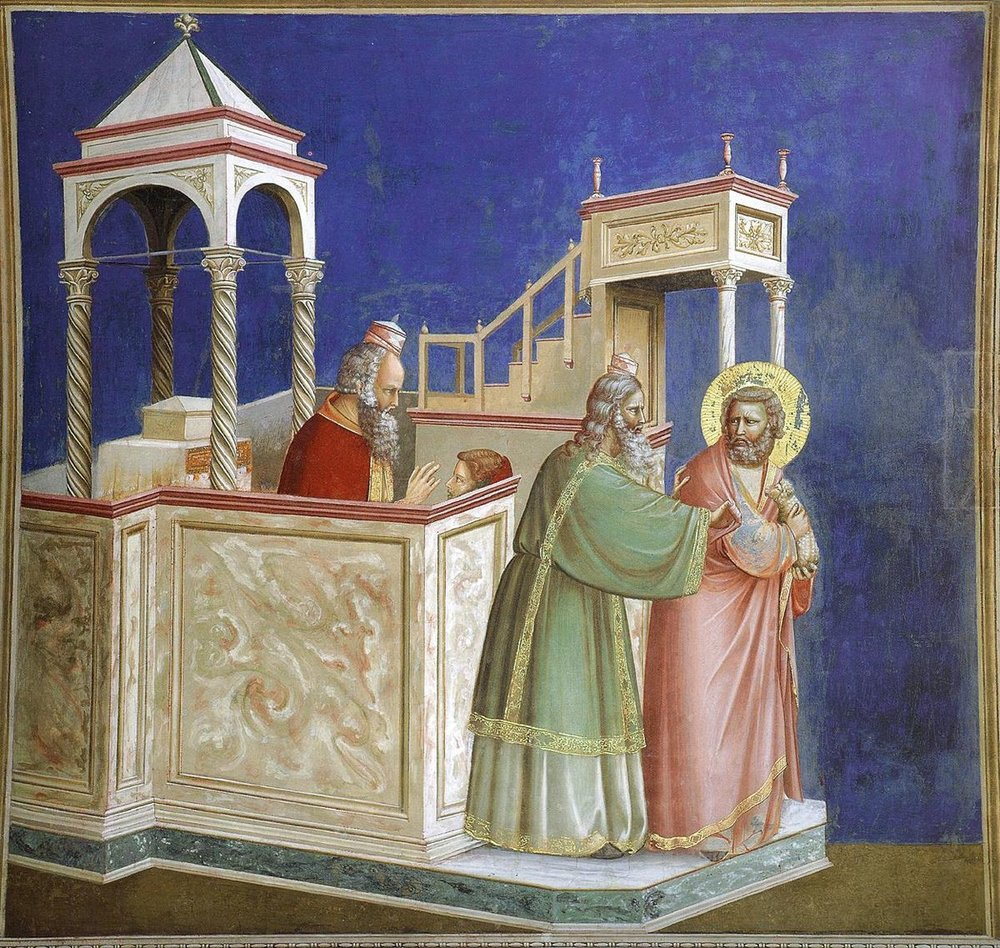 The Expulsion of Joachim from the Temple