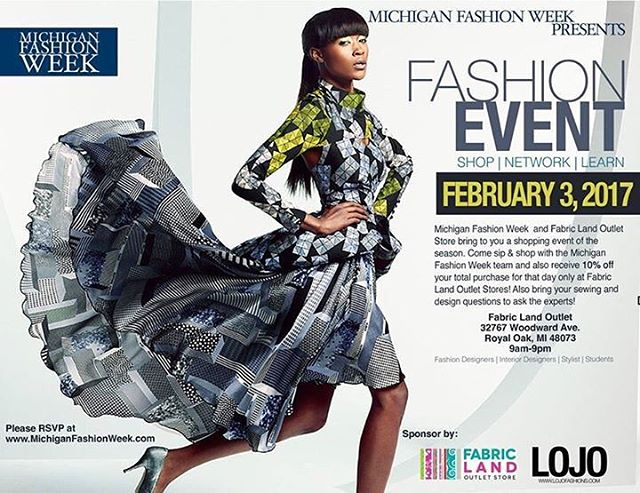 Don't miss out on the fun! We have already over 100 RSVP's! This will be a great shopping experience for anyone interested in fabrics, design, fashion, etc.! We will have expert sewers there answering questions and even bring your sewing machine in for hands on help! We are going to have a great time! Don't miss out! It is a FREE event and you can RSVP here! P.S. If you just want to come and mingle, COME ON!!!