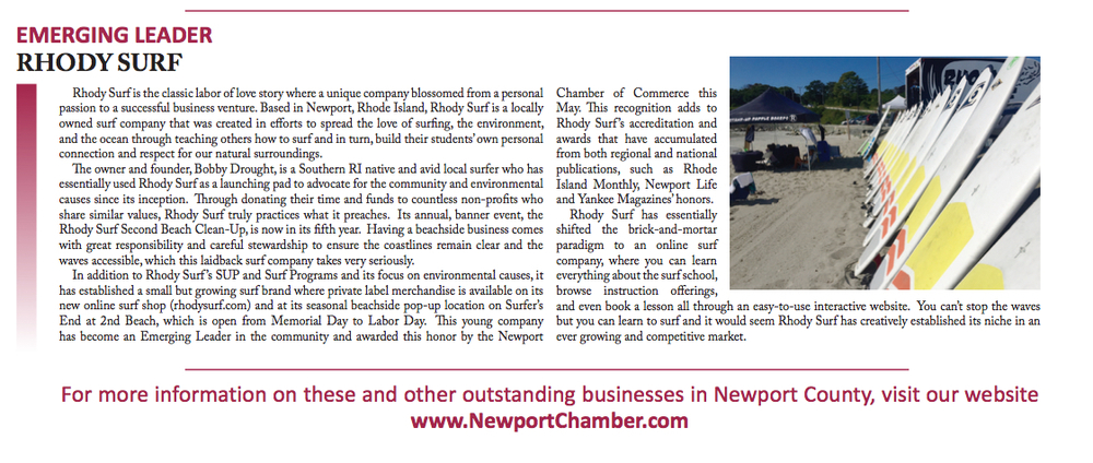 Article from: The newport daily news | May 28-29 2016