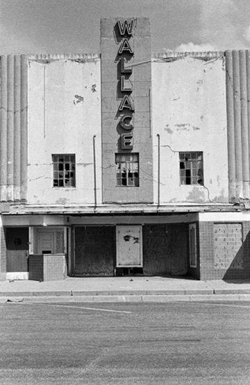 The last motion picture show, Wallace Theater, Muleshoe, TX