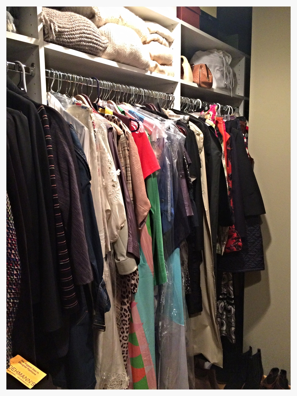 CLOSET EDIT: AFTER
