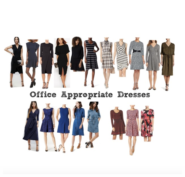 ONLINE SHOPPING: WORK DRESSES