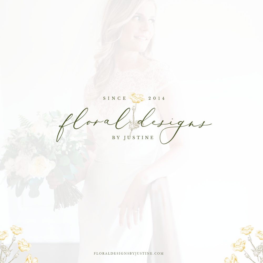 Brand for Floral Designs by Justine - By Magnolia Creative Studio