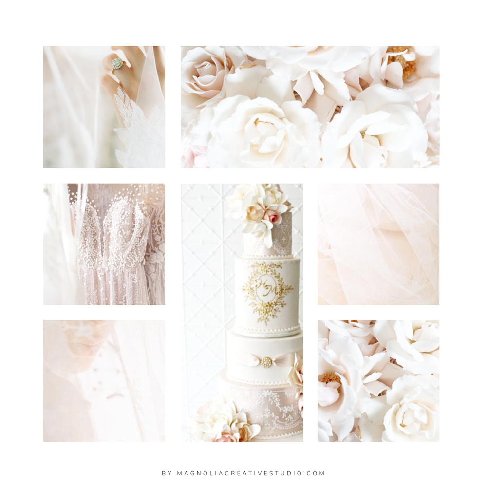 Inspiration Board for Carltons Cake - Design by Magnolia Creative Studio