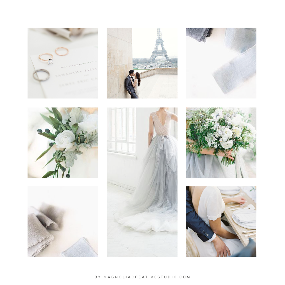 Moodboard for Hannah Bjorndal Photography- by Magnolia Creative Studio