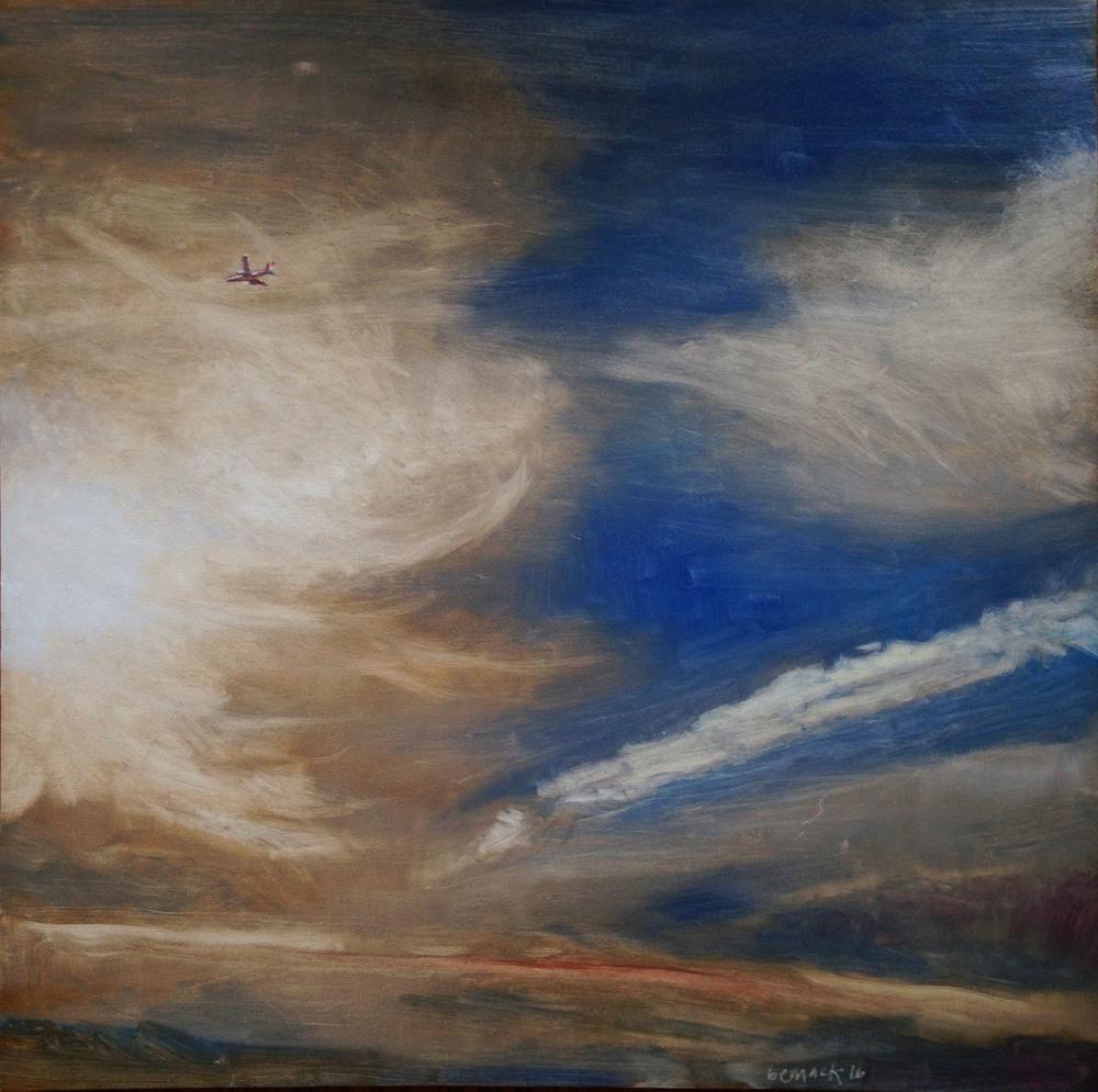 untitled    oil on board    32'x32'