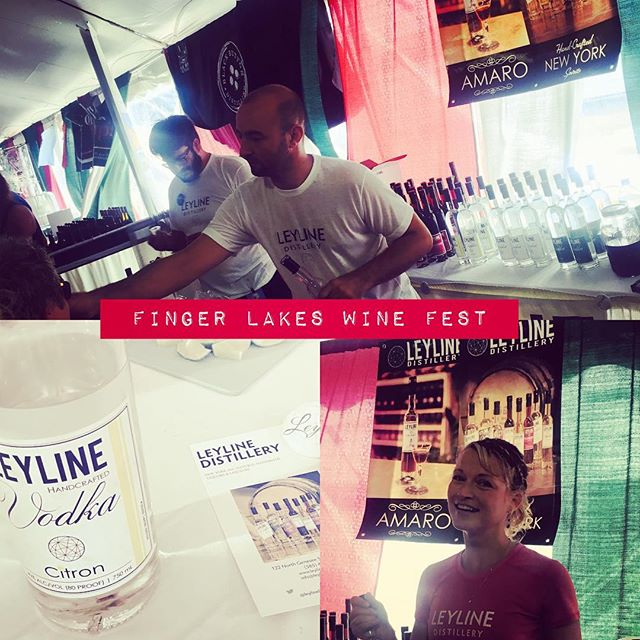 """Could I try the Raspberry?"" x 1,000. #FingerLakesWineFestival #NASCAR  #NYDistilling"