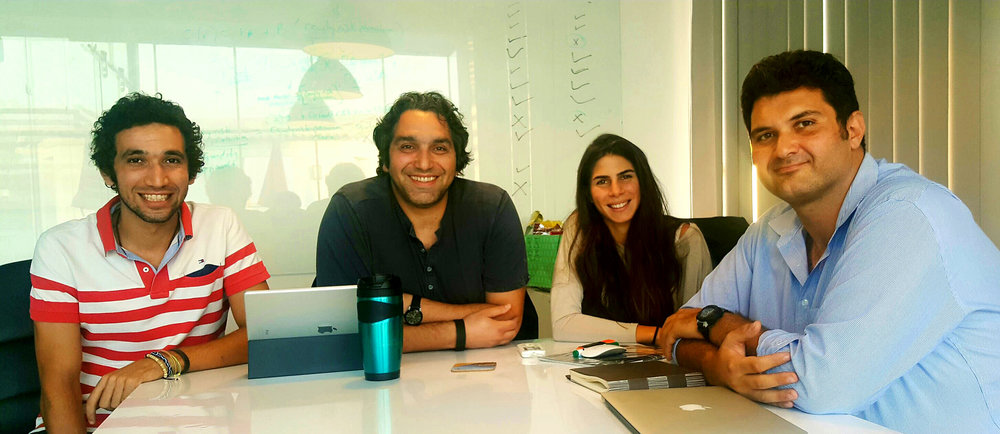 The Tayebat Workers Village Design Team: Mahmoud Radwan, Karim El Kafrawi, Nadine Abulfadl, Mostafa Ascar. Courtesy KarmSolar.