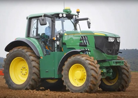 The SESAM tractor. Image courtesy of John Deere