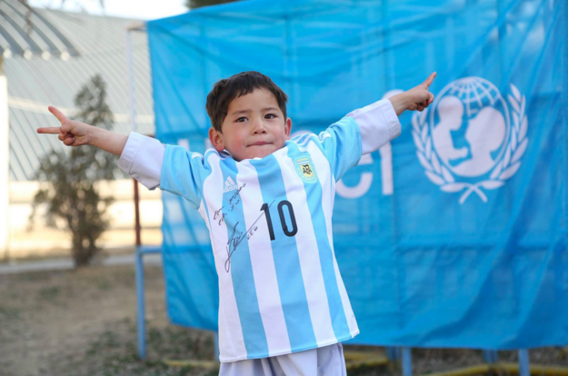 Photo via UNICEF / Via Facebook: afghanistanunicef