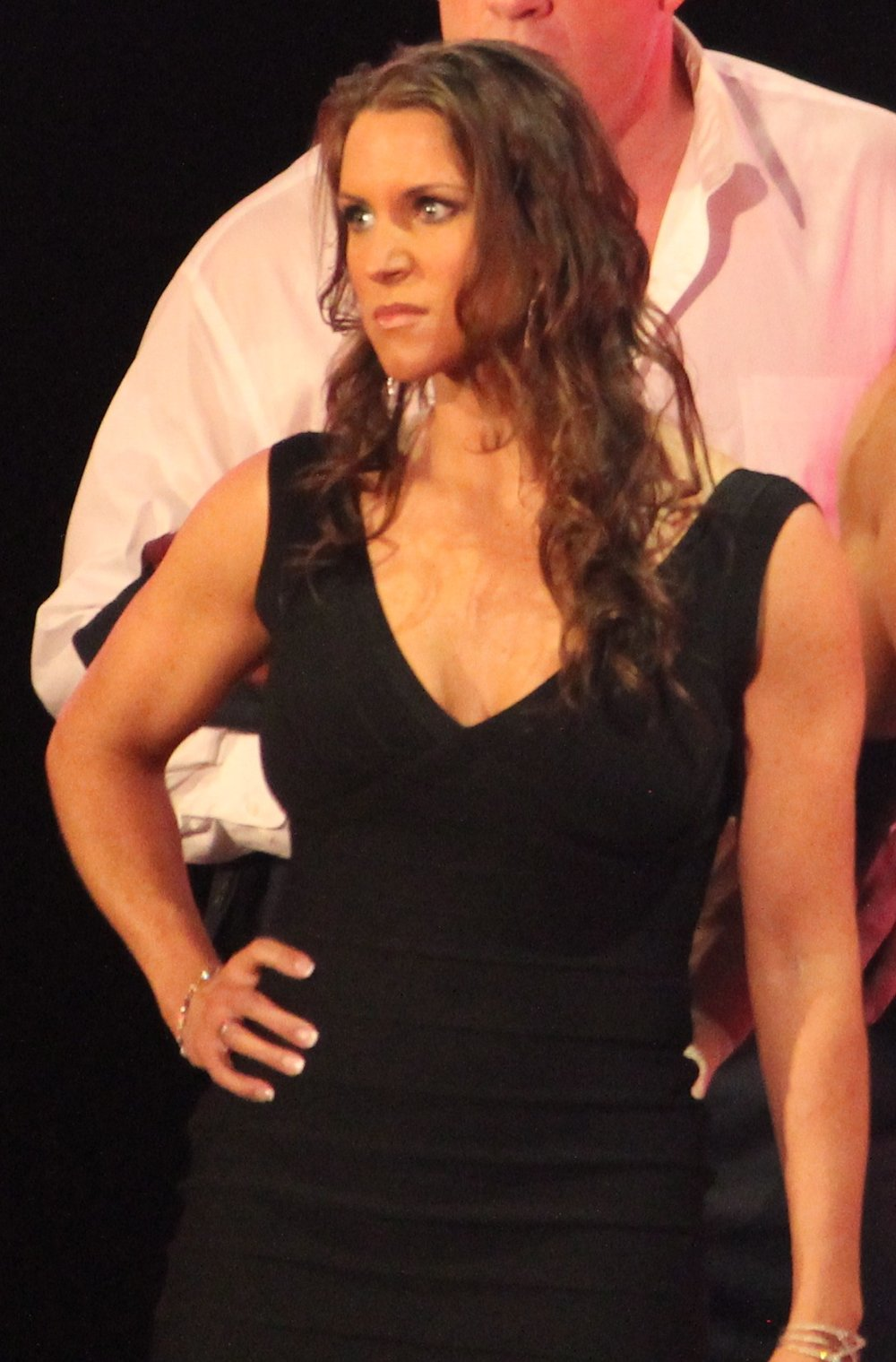 Stephanie McMahon . Original image by  Megan Elice Meadows via Flickr