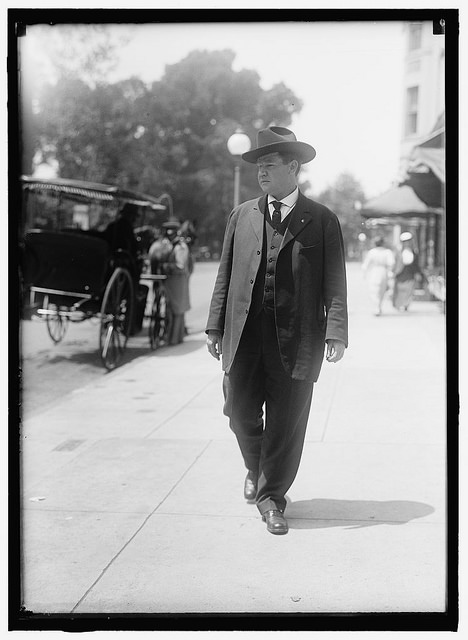 """Big"" Bill Haywood circa 1915 via Washington Area Spark @ Flickr"