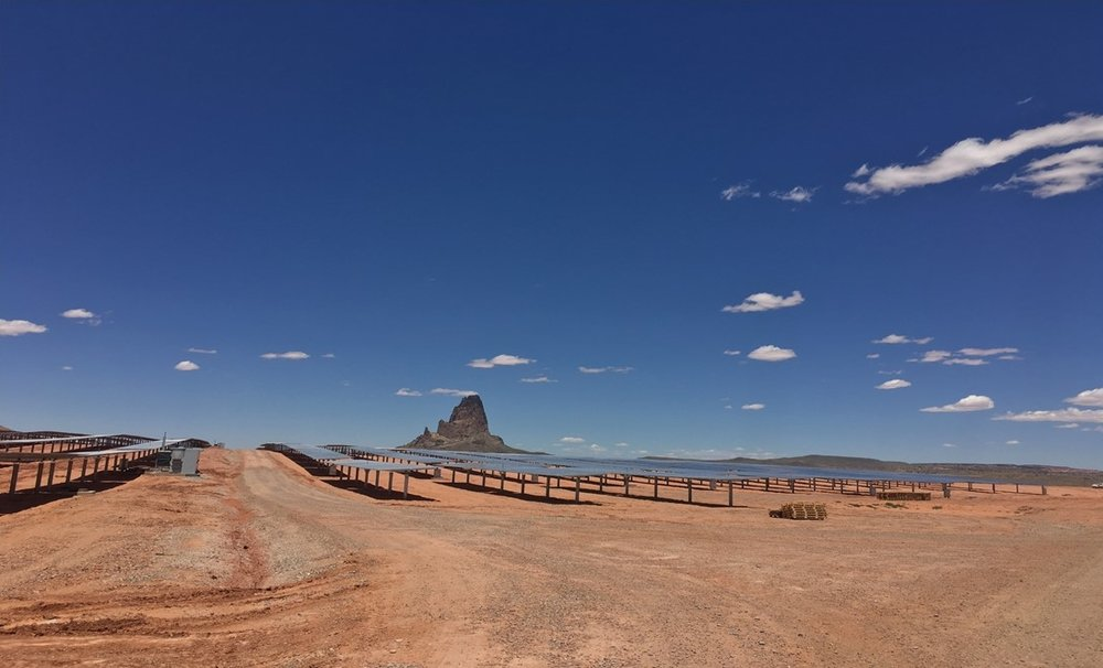 Photo courtesy of the Navajo Tribal Utility Authority