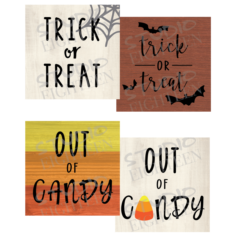 TRICK OR TREAT REVERSIBLE