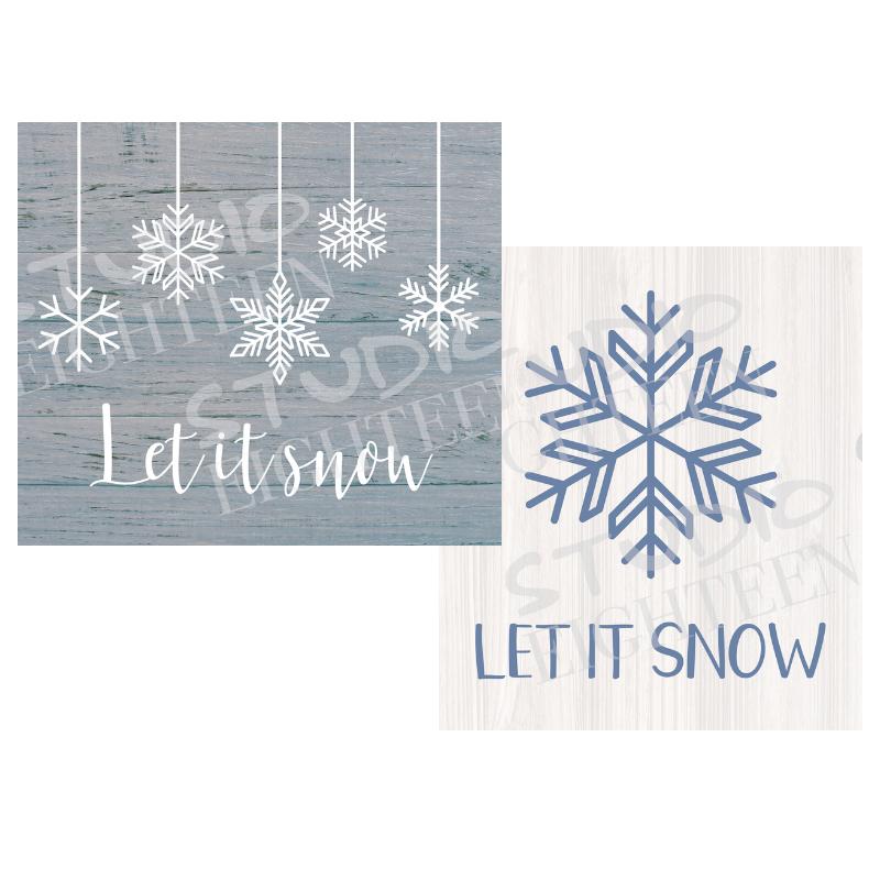 LET IT SNOW (2)
