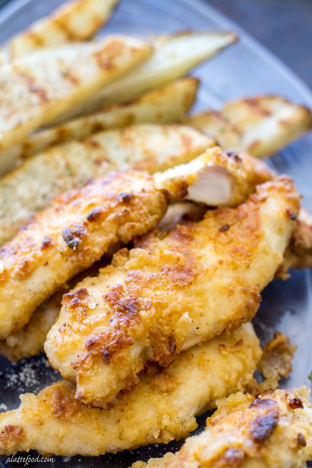 Oven Baked Ranch Chicken Tenders