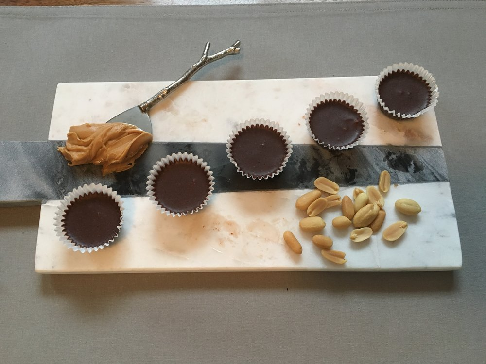 Chocolate and Peanut Butter Cups
