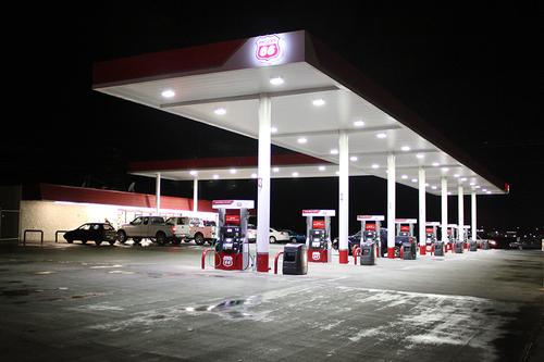 Luminaria para estaciones de gasolina, gasolineras, estaciones de servicio