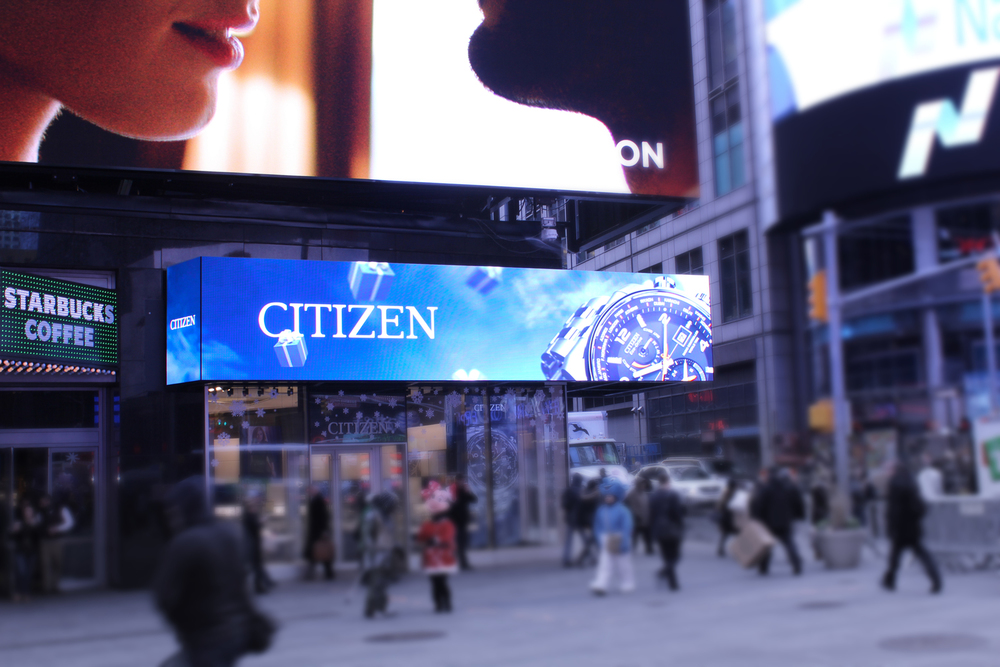 CITIZEN WATCH COMPANY FLAGSHIP STORE, NEW YORK, NY