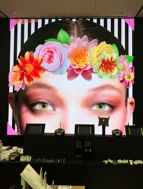 Cosmetic Retailer at South Coast Plaza, Costa Mesa, California