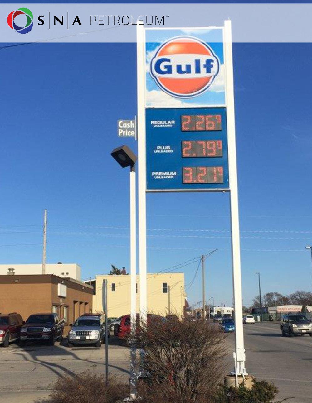 Numeradores para estaciones de gasolina