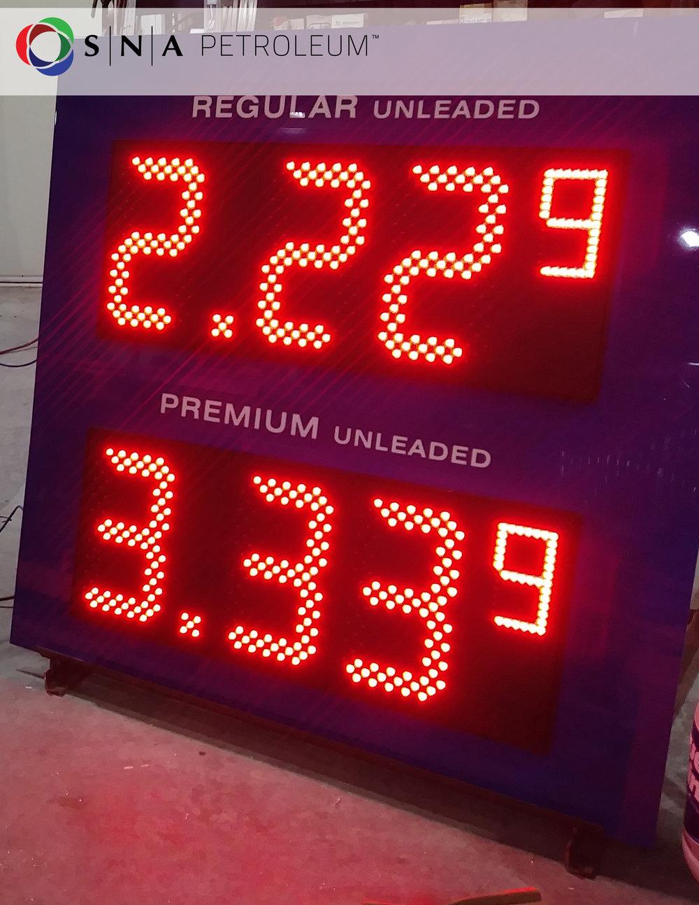Preciadores para gasolineras en Latinoamérica