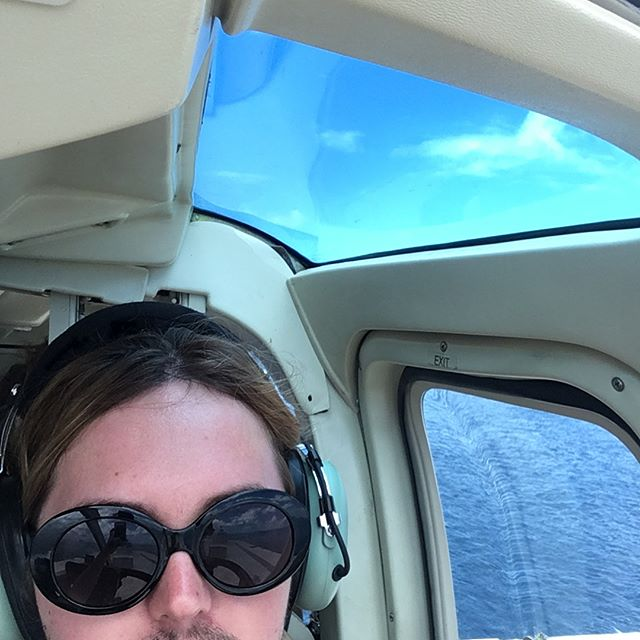 blonde again- also flying