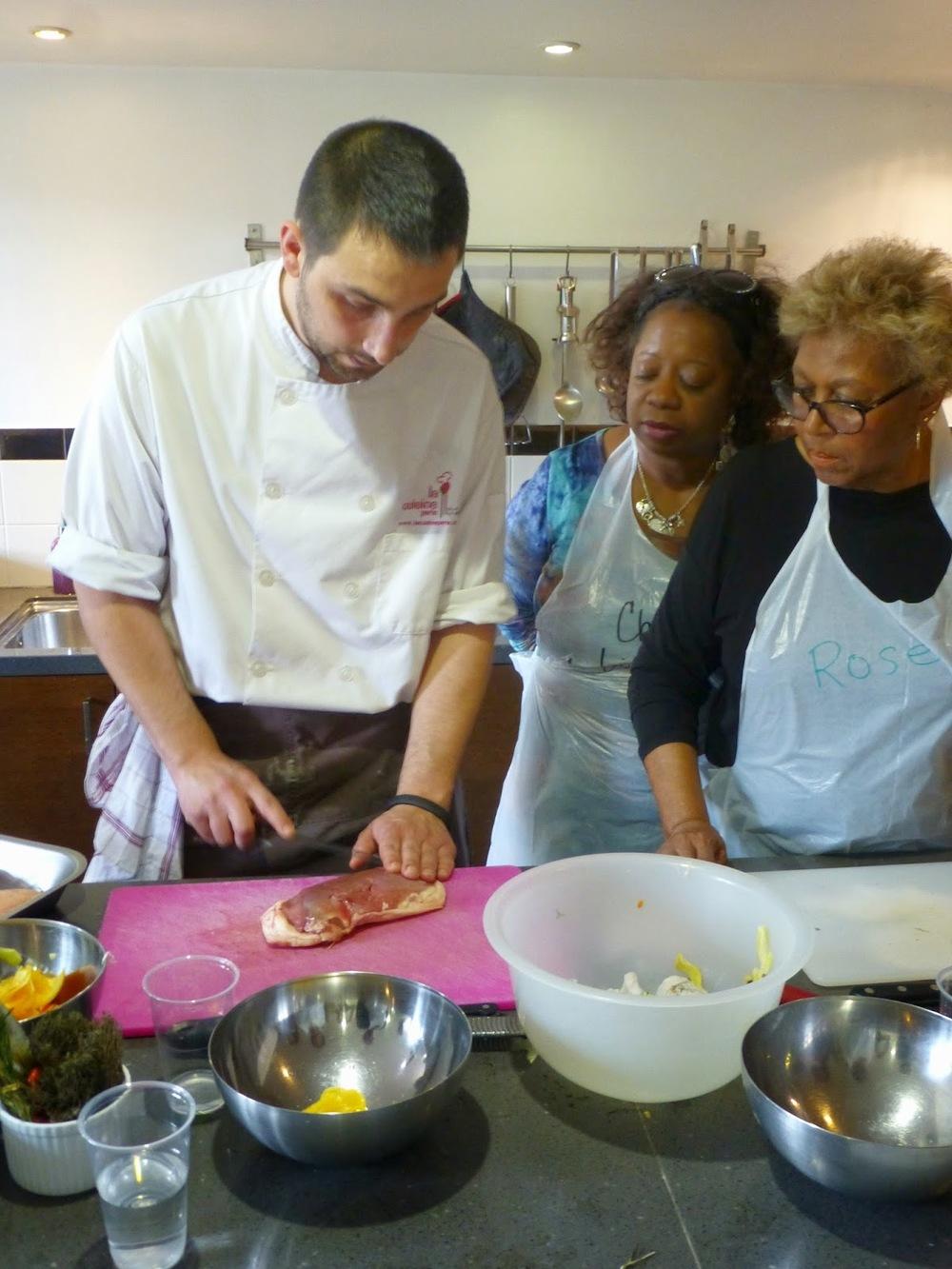 Cooking - Preparing the duck breasts.jpg