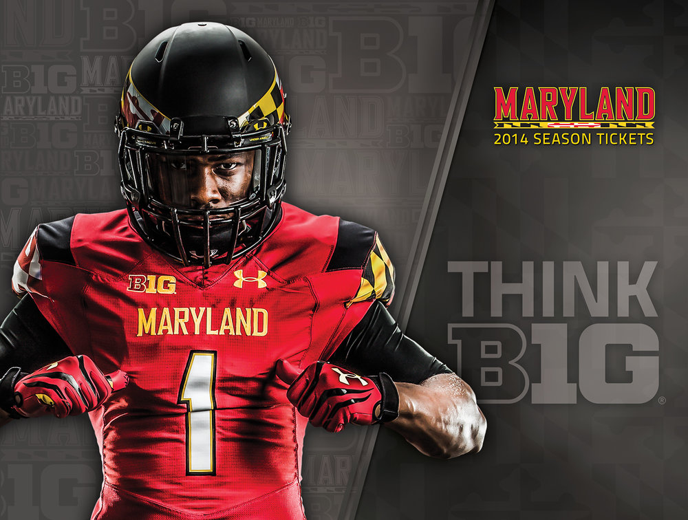University of Maryland 2014 Football Season Tickets Promo Mailer