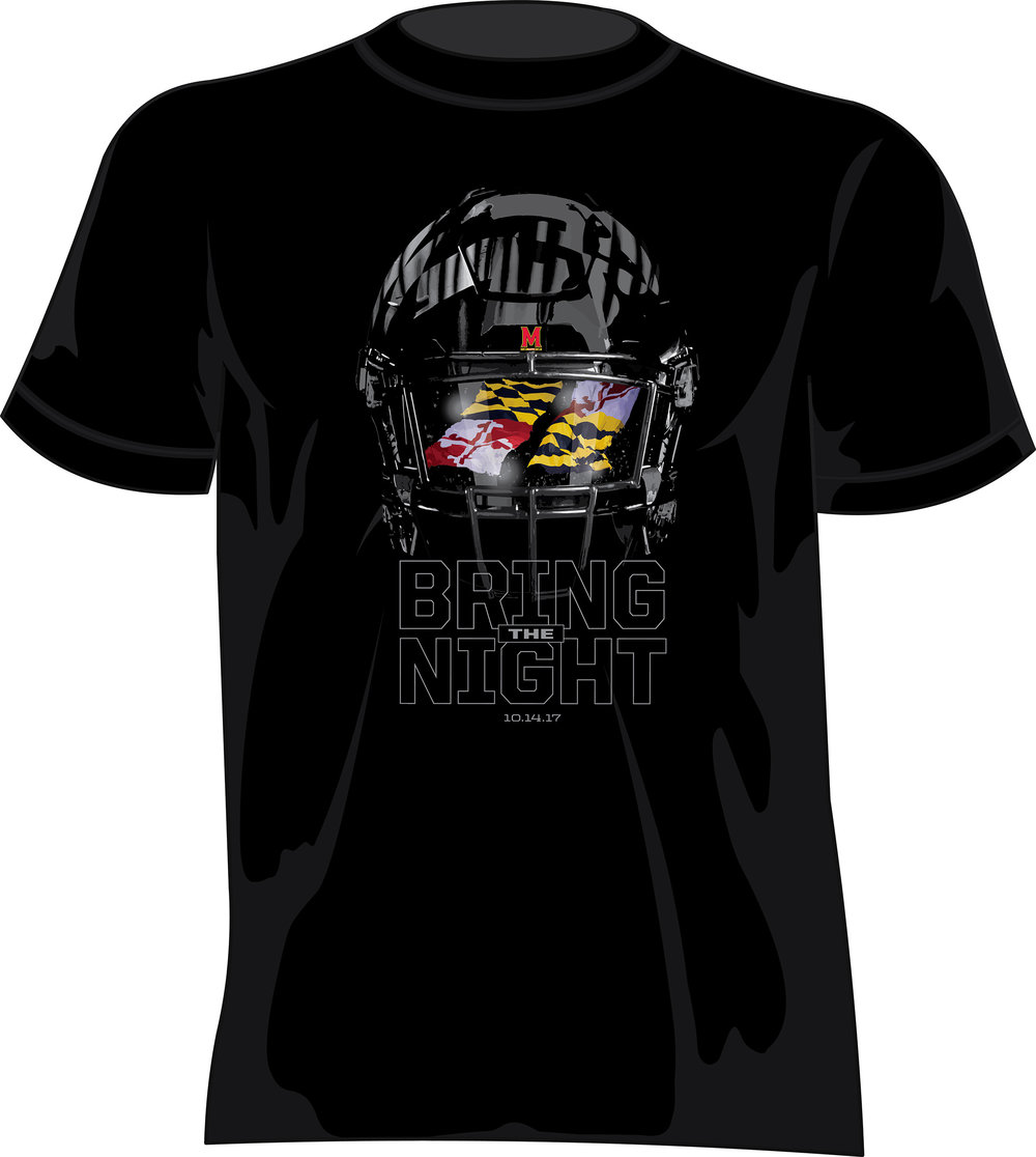 University of Maryland Football — BLACKOUT Game Giveaway.